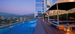 The W - Rooftop pool