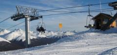 Tierra del Fuego - skiing