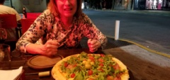 Pizza in Buenos Aires!