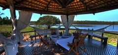 Caiman Ecological Refuge - Outdoor Dining