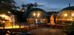EcoCamp Patagonia - Dome tents