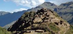 Ruins at Pisaq Alto