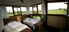 Galapagos Magic Camp - Treehouse accommodation internal