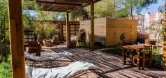 Terrantai Lodge - Sun terrace