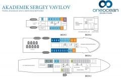 Akademik Sergey Vavilov Deck Plan