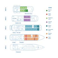 Hebridean Sky Deck Plan