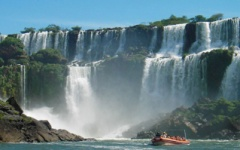 North to South - Iguazu Falls
