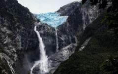 Queulat Hanging Glacier